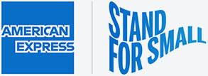 AMEX Stand for Small logo